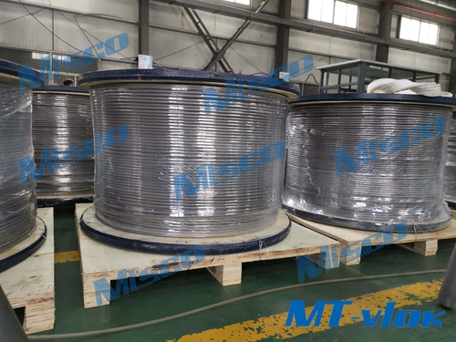 trường hợp công ty về We successfully made it! Alloy 825 welded coiled tubing!