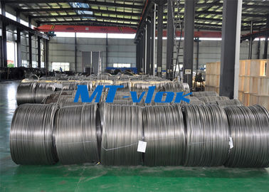 TP304L / 1.4306 Small Diameter Stainless Steel Coiled Tubing For Cable Industry