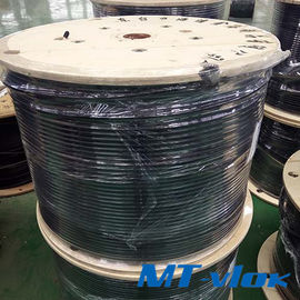 TP304 / 304L Welded Stainless Steel Coiled Tubing For Multi - Core Tube