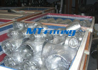 Chemical Industry Flanges Pipe Fittings ASTM A403 TP321 / 317 Stainless Steel Tee nhà cung cấp