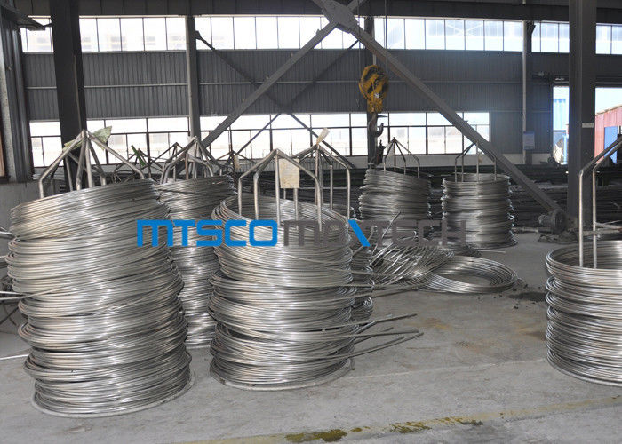 ASTM A790 2205 Duplex Steel Tube Chemical Injection Coiled Stainless Tube nhà cung cấp