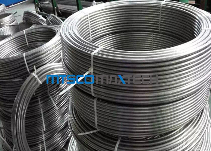 Bright Annealed Stainless Steel Coiled Tubing S30908 / S31008 8mm Precision nhà cung cấp