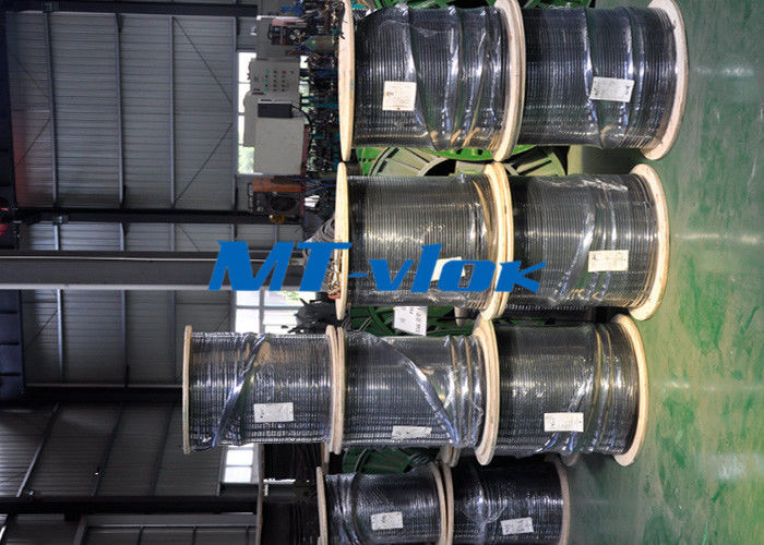 Welded Single / Multi Core Stainless Steel Coiled Tubing TP304L 316L Seamless nhà cung cấp