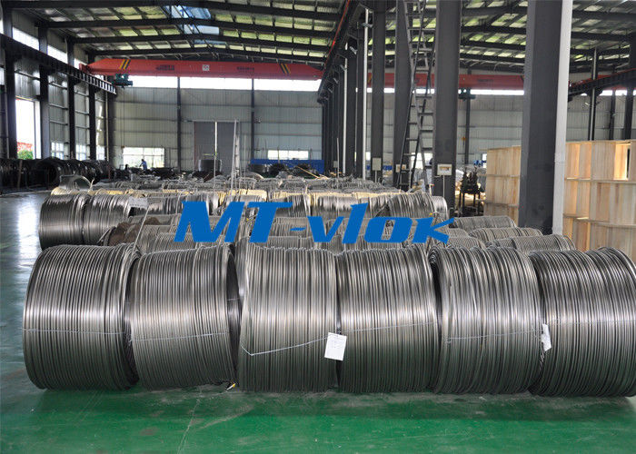 TP304L / 1.4306 Small Diameter Stainless Steel Coiled Tubing For Cable Industry nhà cung cấp