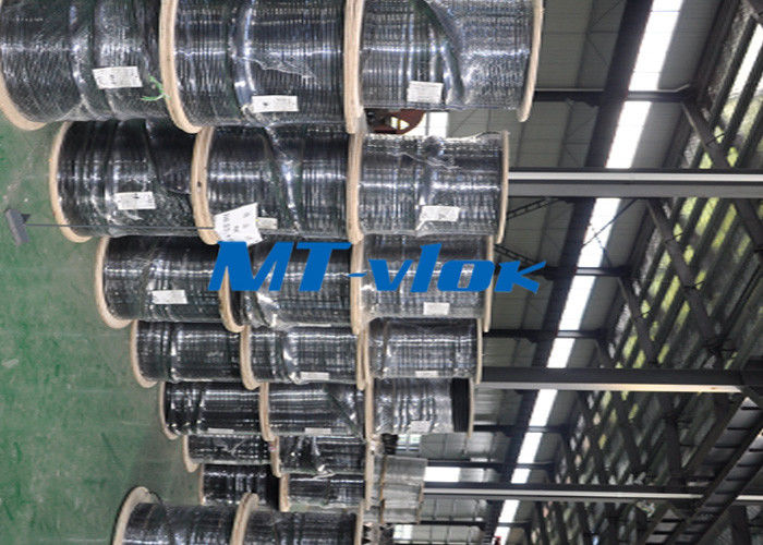 Welded Super Long Multi core Stainless Steel Coiled Tubing For Marine nhà cung cấp