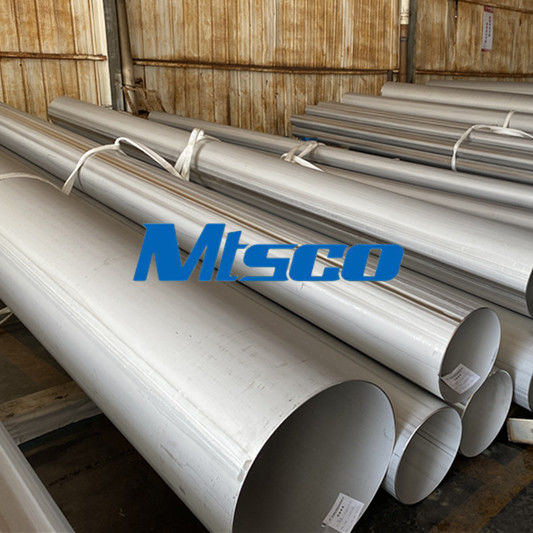Annealed Pickled 304L 316L 6m AD2000 Stainless Steel Welded Pipe